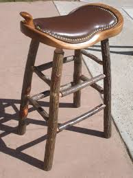 Western Leather Chair Stools Bar Stools Chairs And Gliders Hand Crafted By Amish