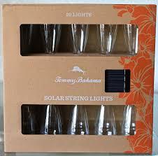 Solar String Lights For Gazebo by Tommy Bahama Solar String Lights 20 Lights Per New In Box Outdoor