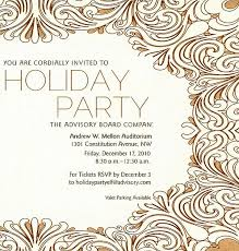 sample invitation for christmas party from company redwolfblog com