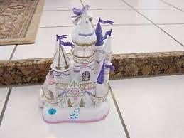 Wedding Cake Castle Vintage Trendmaster 1996 Wedding Cake Castle Rare W 3 Figures