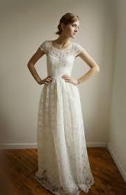 wedding dress brokat ellie 2 lace cotton casual wedding dress bridebug