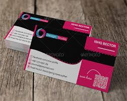 20 pink business cards u2013 free psd eps ai indesign word pdf