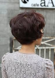 curly blunt cut short hair cuts back view most popular asian hairstyles for short hair popular haircuts