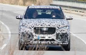 2018 jaguar f pace svr spied jaguar u0027s first super suv gets closer