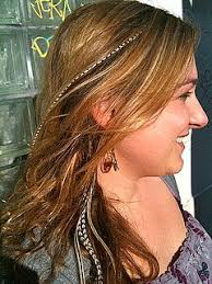 feather extensions the glitter killer trend rooster feather hair extensions