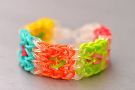 make loom band hair pins how to make the cube rainbow loom bracelet