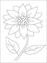 Flower Page Printable Coloring Sheets Sunflower Coloring Page Sunflower Coloring Page