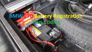 bmw 520i battery location bmw e70 x5 battery registration and coding switch from agm to
