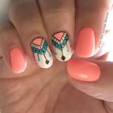 best 25 tribal nail designs ideas on pinterest teal nail