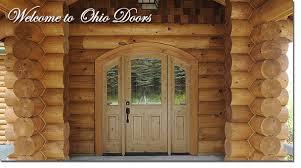 Log Cabin Interior Doors Ohio Door Company Wood Entrance And Interior Doors