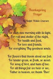 thanksgiving prayer blessings festival collections