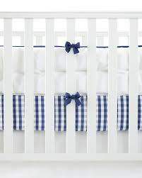 Gingham Crib Bedding Borrowed From The Boys This Is One Of Those Classic Patterns