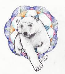 29 amazing polar bear tattoo designs