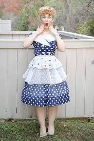 Halloween Costume Polka Dot Dress 25 Lucy Costume Ideas Love Lucy Costume