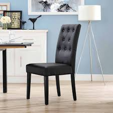 modway confer dining vinyl side chair multiple colors walmart com