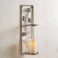 Silver Wall Sconce Candle Holder Wall Sconces Candle Chandeliers Pier 1 Imports
