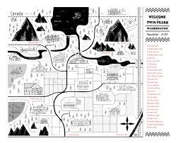 Twin Peaks Map Twin Peaks Maps