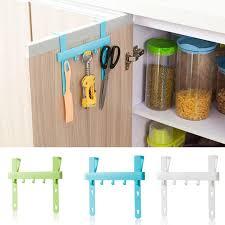 kitchen cabinet door storage racks aliexpress com buy door rack hooks kitchen hanging storage