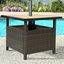patio table with umbrella hole small patio table with umbrella hole furniture for small patio when
