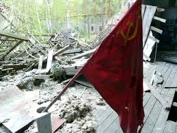 Russian Flag With Hammer And Sickle Vogelsang A Soviet Ghost Town A Year In Berlin