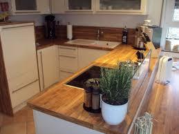 holzherd küche arbeitsplatte holz herd glasabtrennung küche