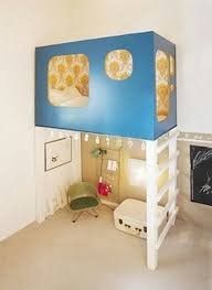 Things To Put On A Desk 124 Best Cool Loft Beds Images On Pinterest Bunk Bed Plans Bunk