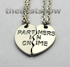 friend necklace images Sisters necklace best friend necklace set parters in crime jpg