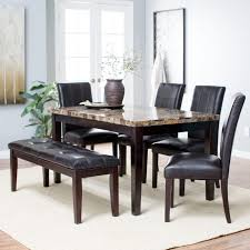 dining room sets with bench raymour and flanigan kitchen table sets farmhouse wood bench