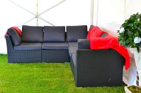 Rattan Settee Secondhand Pub Equipment Sofas And Low Tables 10 Seater Rattan
