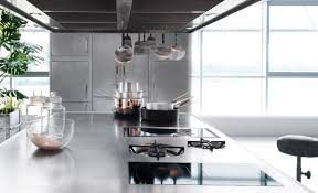 professional stainless steel kitchen ego by abimis design alberto