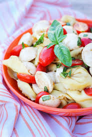 classic pasta salad tortellini caprese salad u2014 home u0026 plate easy seasonal recipes