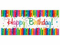 birthday ribbons rainbow ribbons happy birthday banner
