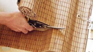 custom bamboo roman shades ideas