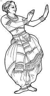 coloring download flamenco dancer coloring page flamenco dancer