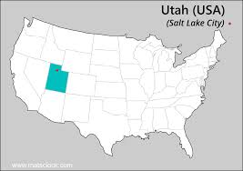 Utah Map Usa by Utah Time Time Now In Utah Usa