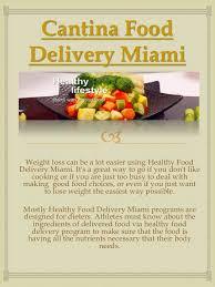 healthy food delivery miami