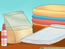 How To Do Laundry In The Bathtub How To Do Laundry While Traveling With Pictures Wikihow