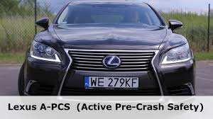 lexus of new zealand lexus ls 600h l a pcs active pre crash safety 1001cars