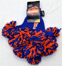 florida gator fan gift ideas amazon com university of florida gators apparel pom pom gloves