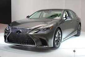 used lexus for sale in detroit tech laden 2018 lexus ls flagship debuts in detroit