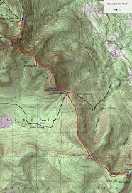 Tos Map Eastern Escarpment Trail Catskill Mountains