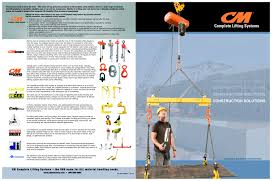 cm comp lifting systems construction solutions cm industrial