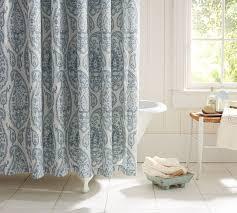 Pottery Barn Waffle Weave Shower Curtain Pea Alley Shower Curtain Shower Curtain Rod