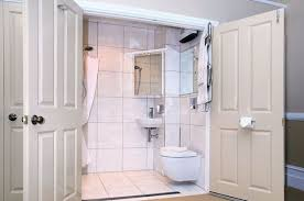 tiny ensuite bathroom ideas disappearing shower curtain for small bathrooms 5 steps with