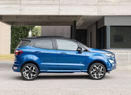 ford ecosport st line revealed cars co za