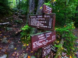 Baxter State Park Map by Off On Adventure South Turner Mountain Baxter State Park 9 13 13