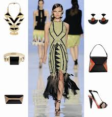 the great gatsby dress code high fashion s s 12 trend 1920s