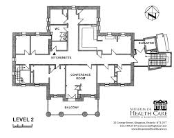 conference floor plan rent the museum of health care