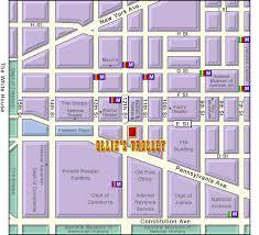 washington dc trolley map ollie s trolley restaurant in washington dc direction map