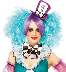 Mad Hatter Halloween Costumes Girls Manic Mad Hatter Halloween Costume